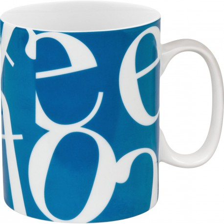 Mug Collage Blue