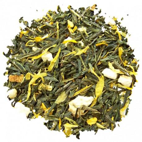 Japan Lime, thé noir aromatisé citron avec des morceaux - Comptoir Francais du Thé