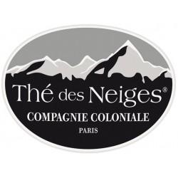 Thé des Neiges, thé vert et blanc aromatisé fruits rouges et pomme gourmande - Compagnie Coloniale