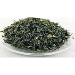 Thé vert de Chine Sencha aromatisé Earl Grey (Bergamote)