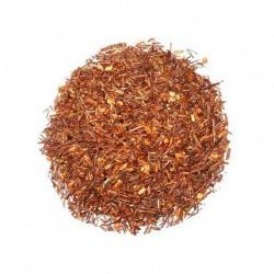 Rooibos Amande, thé rouge d'Afrique aromatisé aux amandes avec morceaux de fruits.