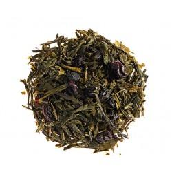 Sencha en Bleuet, thé vert aromatisé à la myrtille - Comptoir Français du Thé