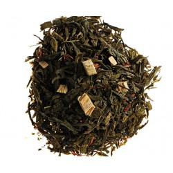 Gan Cao, thé vert aromatisé réglisse - Comptoir Francais du Thé