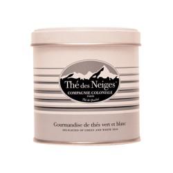 """ Thé des Neiges "" - Boite luxe  -Compagnie Coloniale 1848"