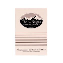 """"""" Thé des Neiges """" boite 25 sachets berlingo - Compagnie Coloniale 1848"""