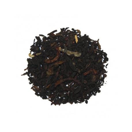 Thé Mélange Afghan, thé noir et vert aromatisé Bergamote, Violette et Jasmin - Thés Donovan 1878