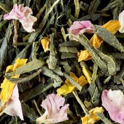 Pêche Verte, thé vert de Chine parfumé à la Pêche - Dammann Frères