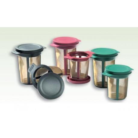 filtre à thé tamis couleur universel