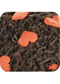 Thé noir peche et fraise