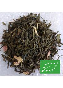 Thé vert à la rose Biologique par Greender's Tea