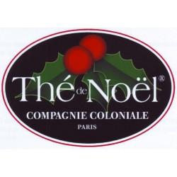 """Thé de Noël """"Compagnie Coloniale"""" 100g"""