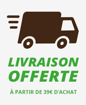 Livraison offerte à partir de 39 € d'achats en relais colis dpd